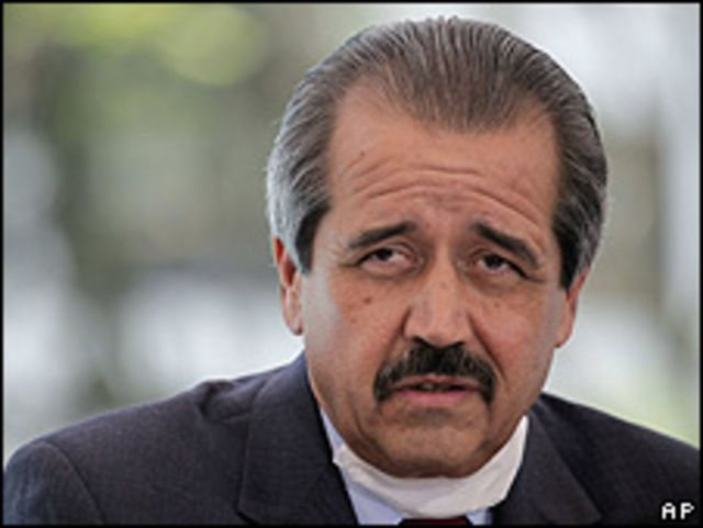 José Ángel Córdova, secretario de Salud de México