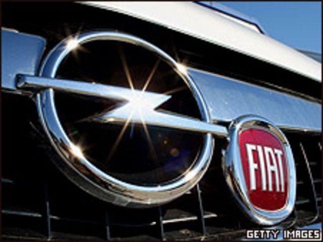 Logos de Fiat y Opel