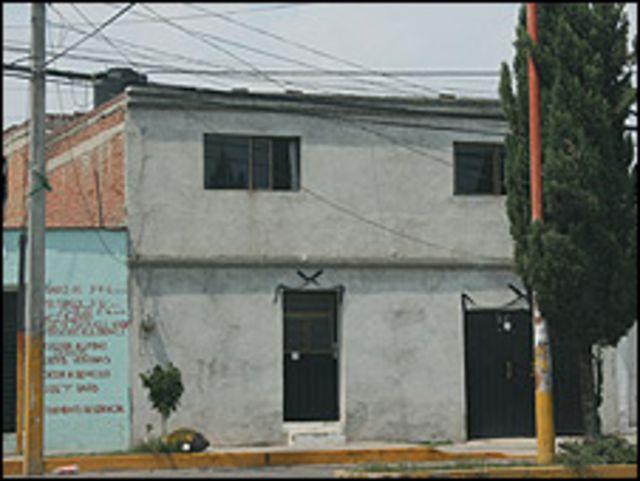 Casa donde vivía Blanca Esther Muñoz