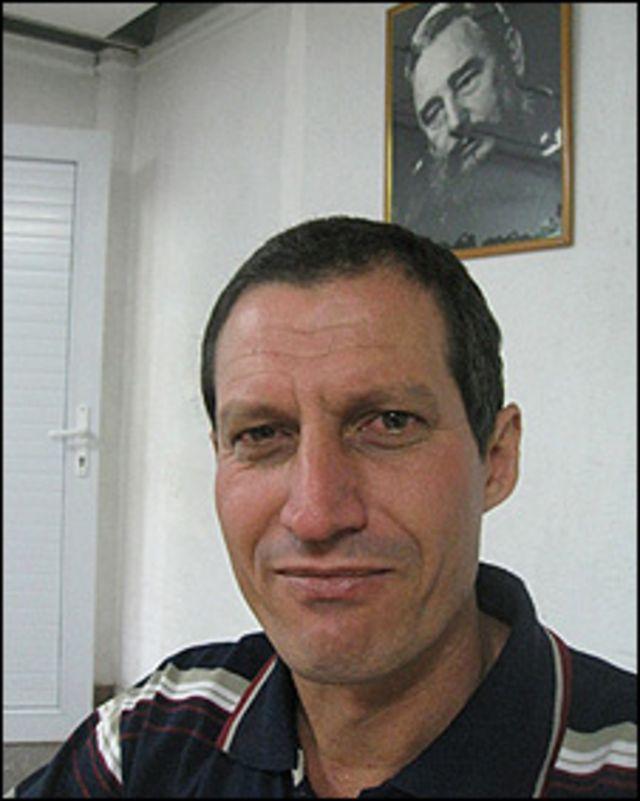 Lázaro Tejo, director de la empresa estatal cubana Pedurit (Foto: Raquel Pérez)