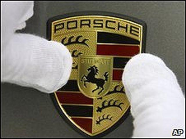 Logotipo de Porsche.