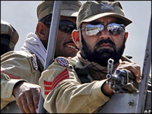 Soldados paquistaníes.