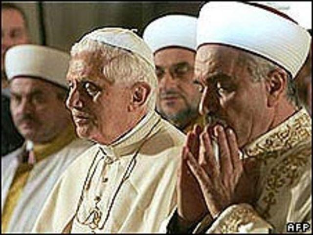 Benedicto XVI en Turquía