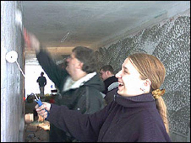 Fans del Union Berlin