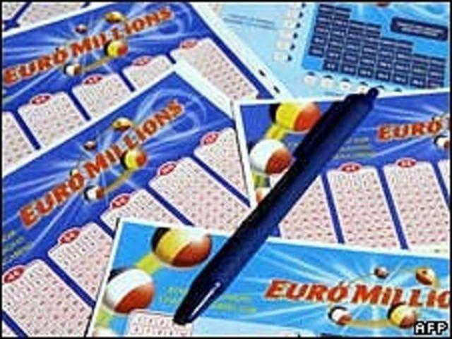 Billetes de Euromillones.