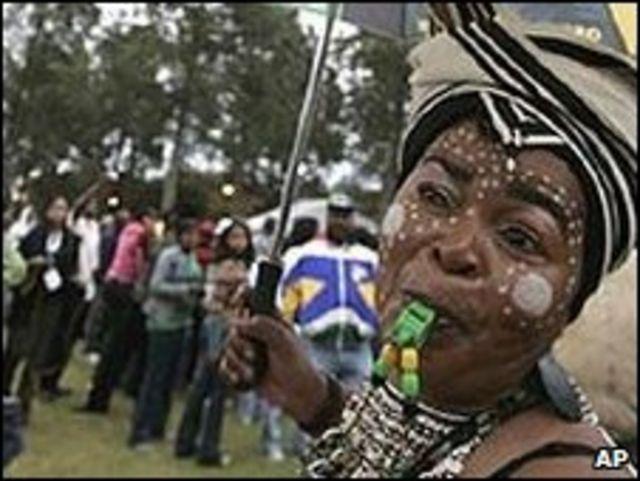 Celebraciones en Pretoria