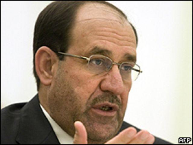 Nuri al-Maliki, primer ministro de Irak