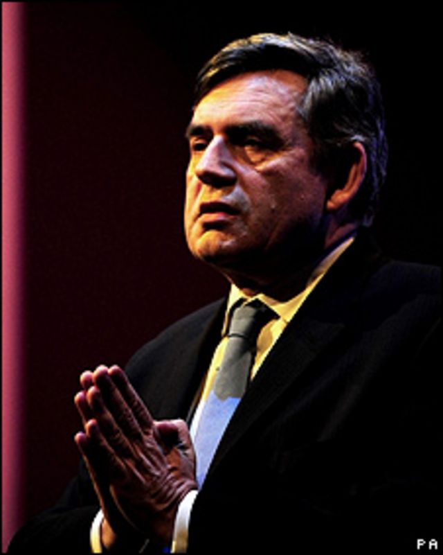 Gordon Brown, primer ministro