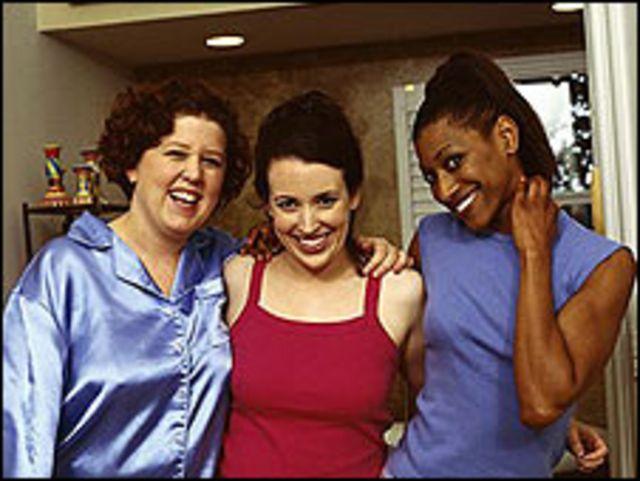 Mujeres sonrientes