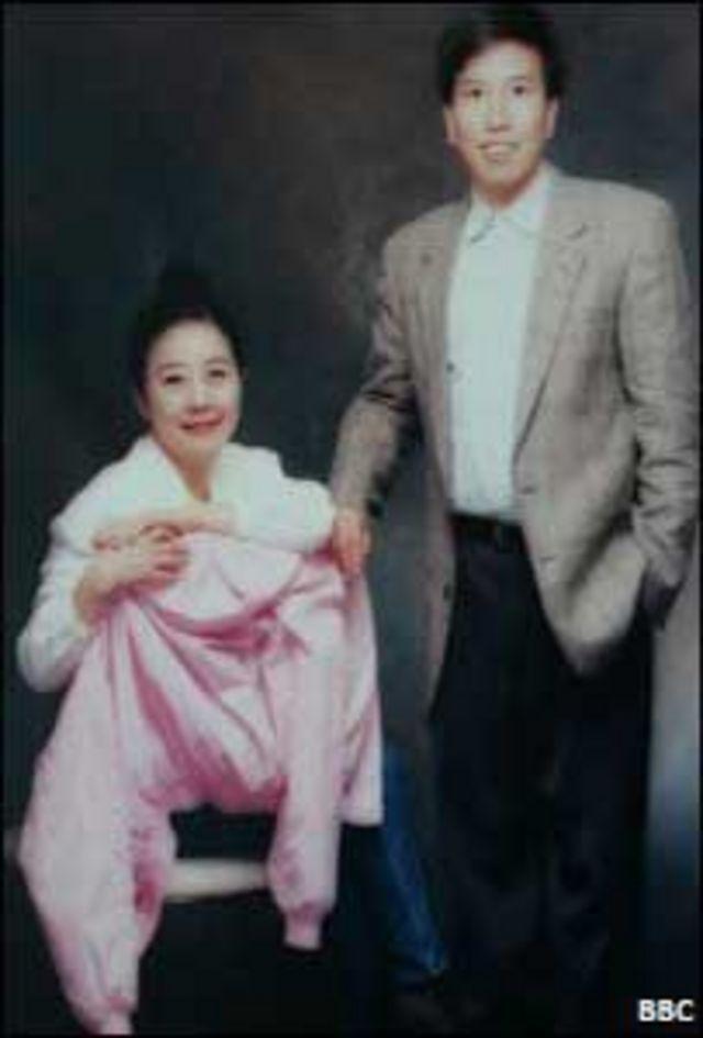 Ông Taddy và bà Nina Wang Kung Yu-sum