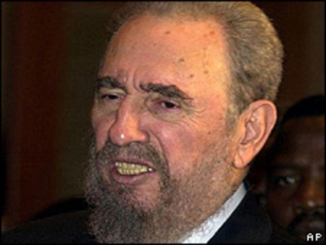 Fidel Castro, ex presidente de Cuba