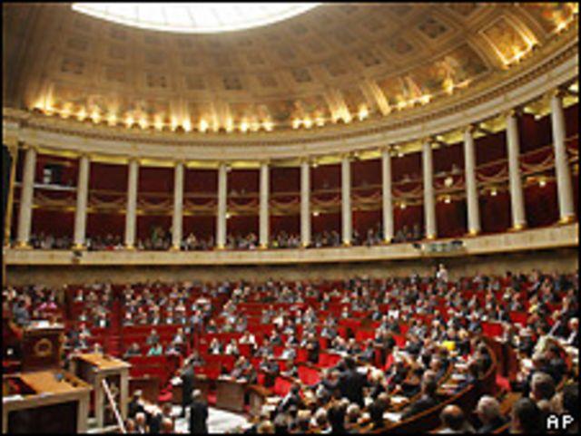 Asamblea Nacional en Francia