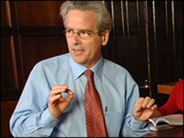 Arturo Valenzuela (foto gentileza de la Universidad de Georgetown)