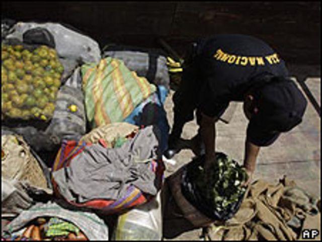 Funcionario policial en Perú