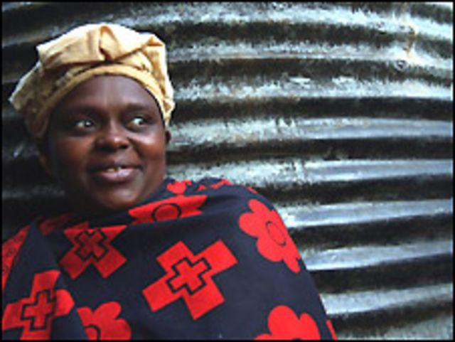 Mujer keniata