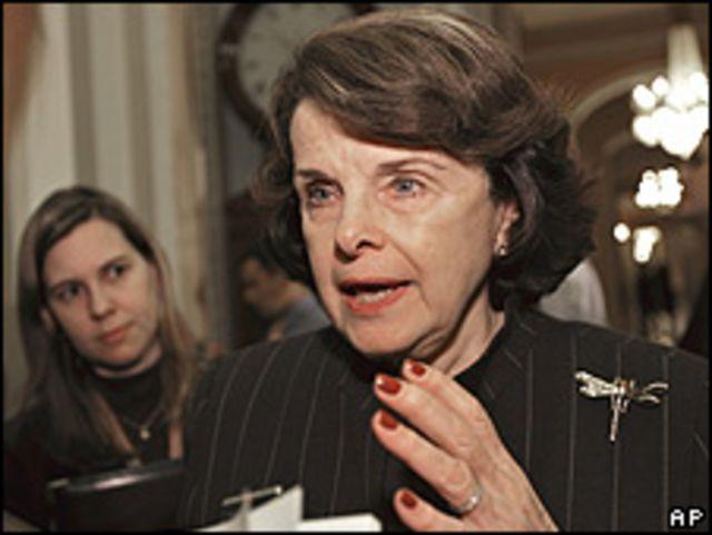 Senadora Dianne Feinstein