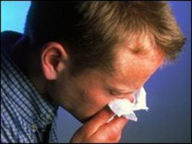 Infección de gripe