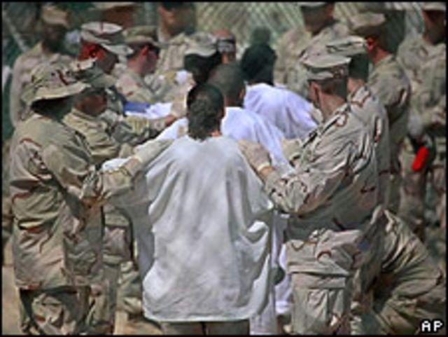 Prisión de Guatánamo, en Cuba