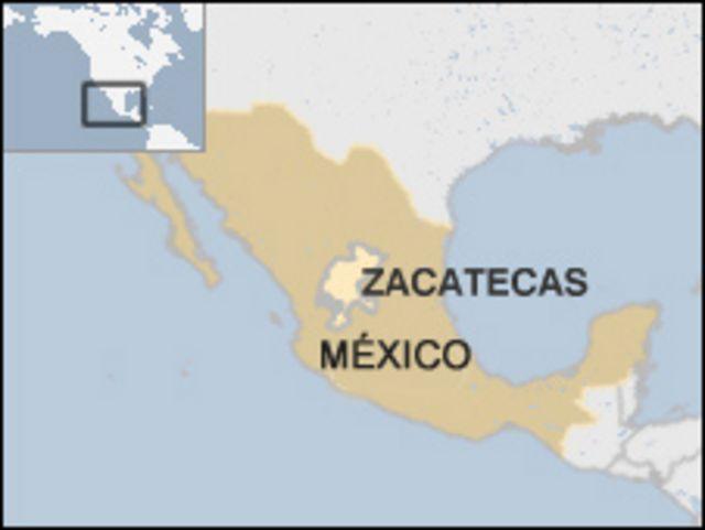 Mapa de México.