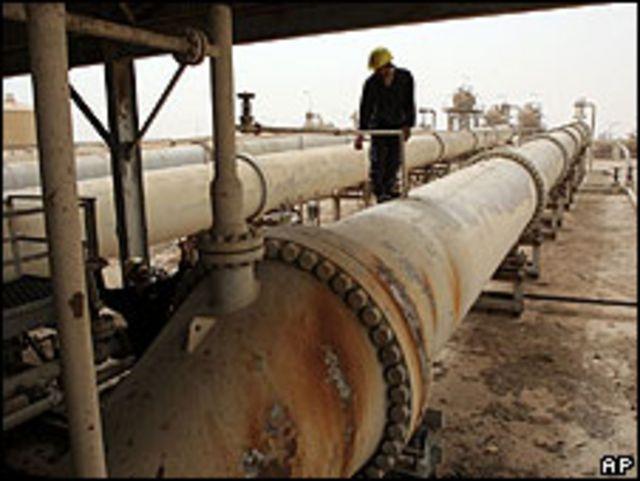 Gaseoducto iraquí