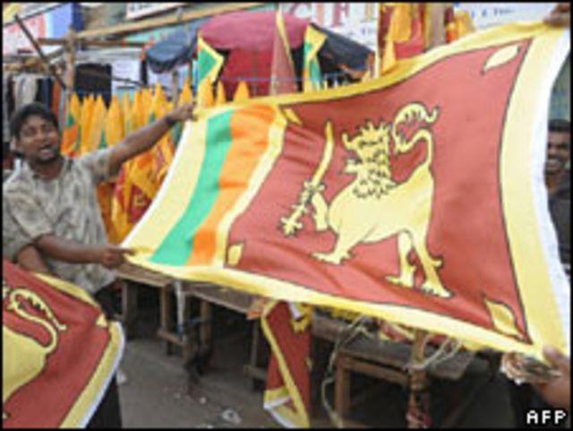 Celebraciones en Colombo.
