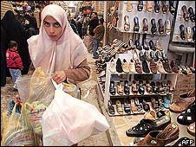 Mercado en Bagdad