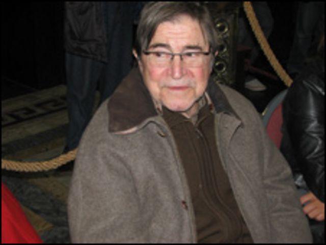 Raúl Benedetti, hermano del poeta fallecido