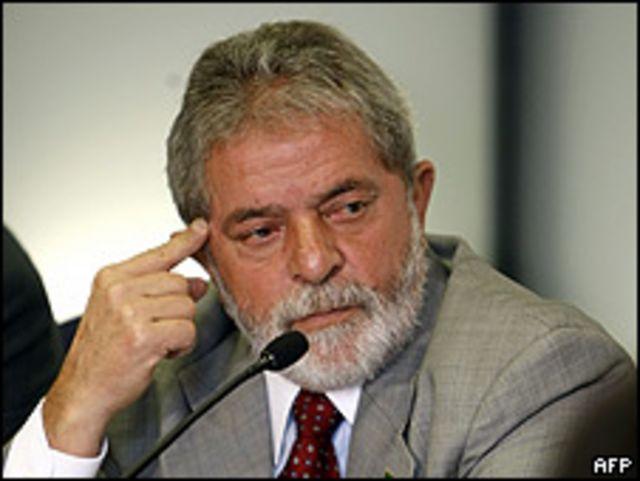 """Luis Inácio """"Lula"""" da Silva en abril de 2009."""