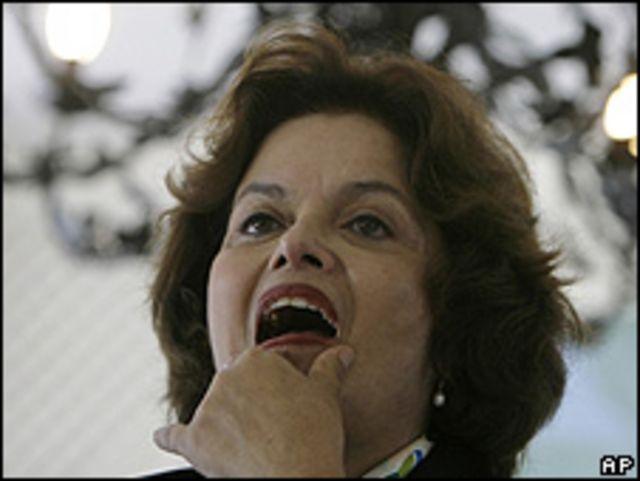 Dilma Rousseff en abril de 2009.