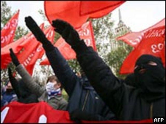 Демонстрации российских ультраправых