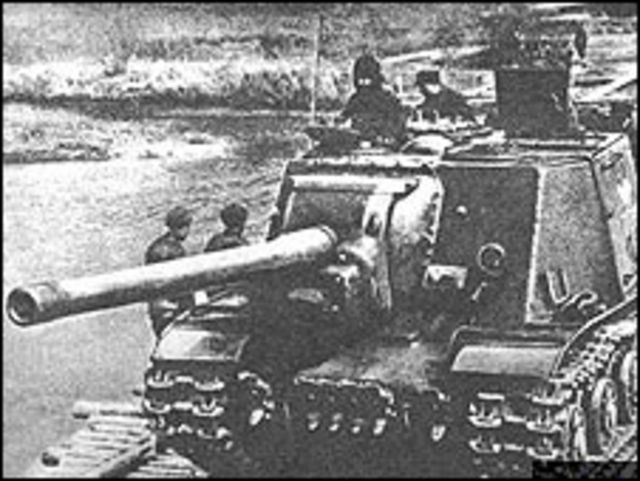Tanques soviéticos en 1942