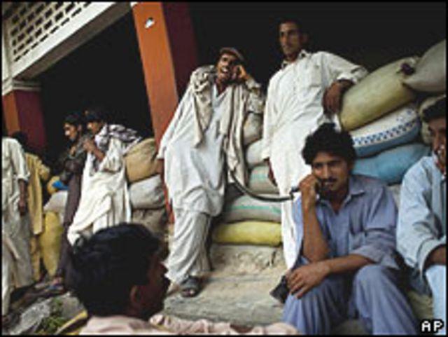 Personas desplazadas del valle de Swat, Pakistán