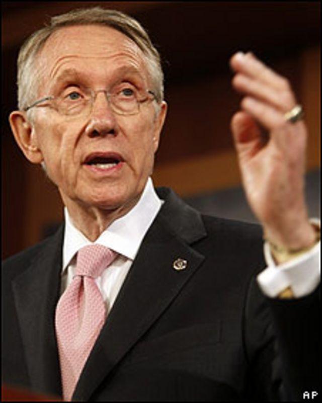 El senador Harry Reid
