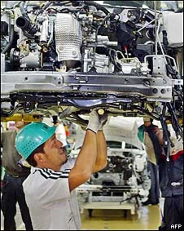 Fábrica de Daihatsu en Japón