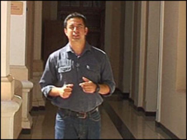 Vladimir Hernández, de la BBC, en Sucre