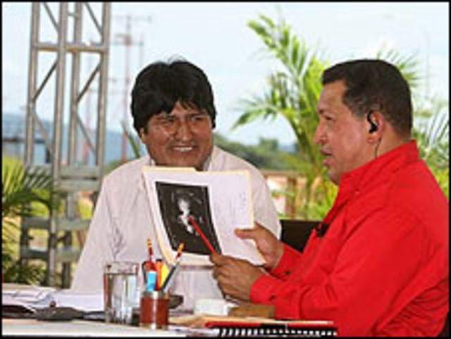 Programa Aló Presidente, en Venezuela. Fotos: alopresidente.gob.ve