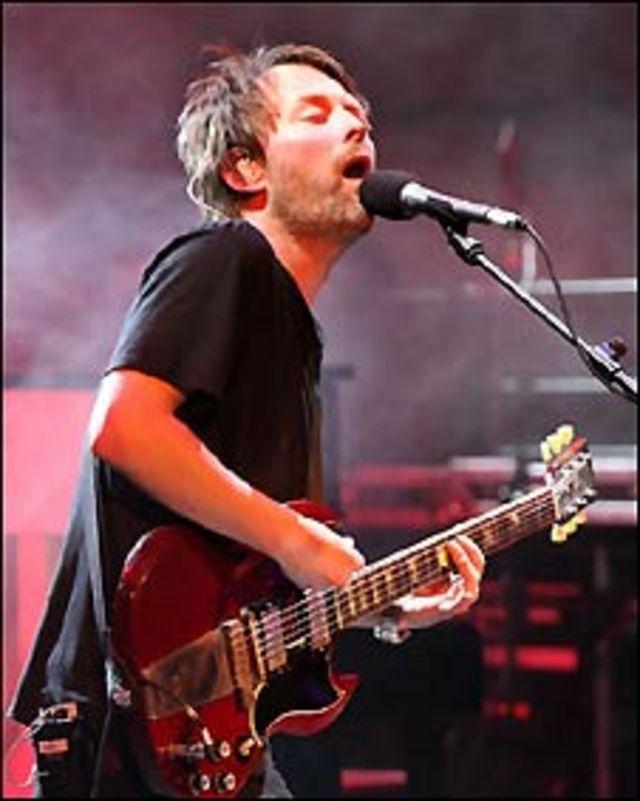Banda musical británica Radiohead