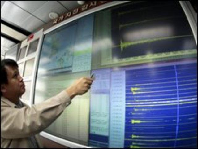 Análisis de las ondas provocadas por el ensayo