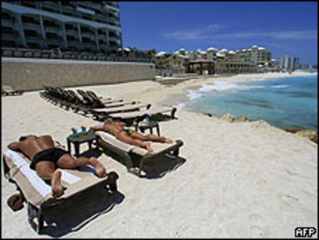 Playas de Cancún, en México.