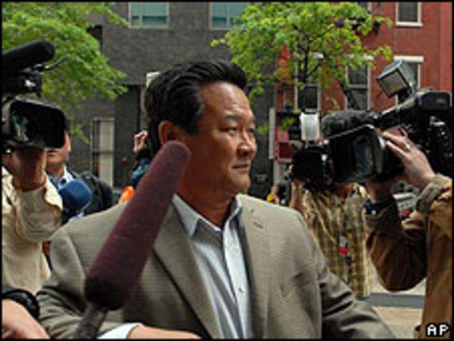 Sin Son Ho, embajador norcoreano ante la ONU.