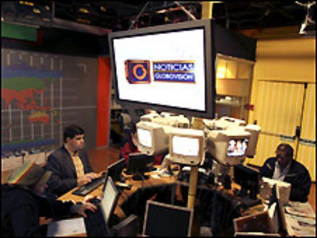 Estudio de Globovisión