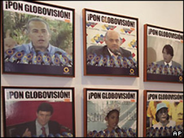 Afiches de Globovisión