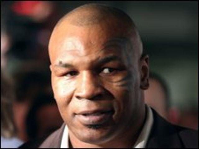 Ex boxeador Mike Tyson
