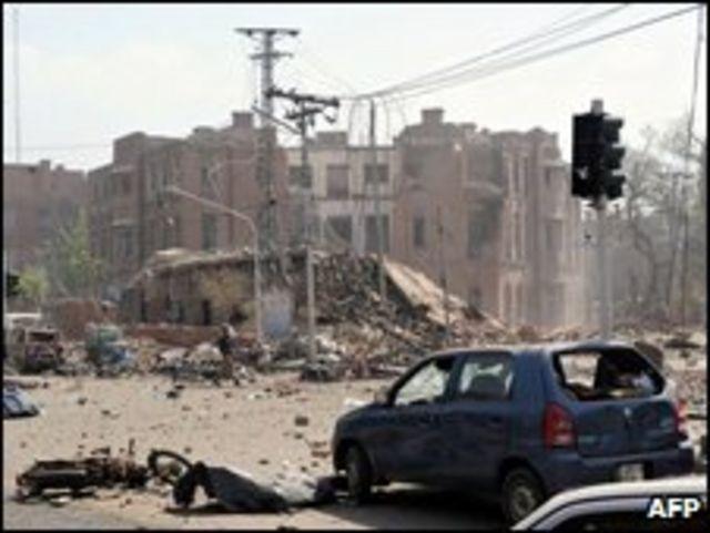 Atentado com bomba en Lahore, Pakistán