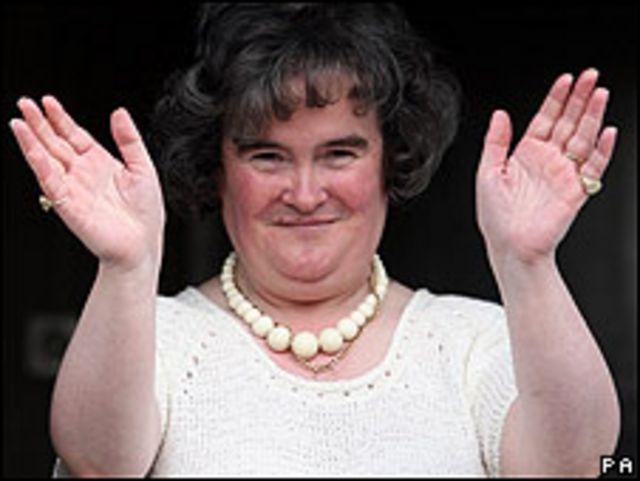 Susan Boyle (foto de archivo)