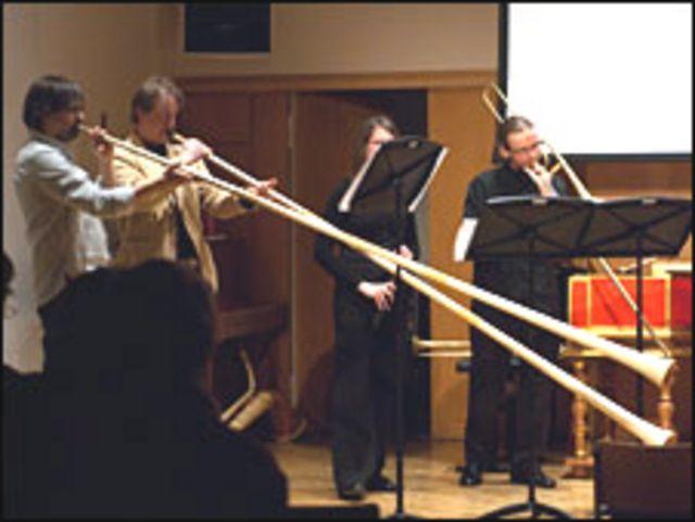 Interpretación de la Schola Cantorum Basiliensis