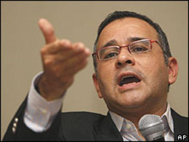 Mauricio Funes, ex periodista y actual presidente de El Salvador