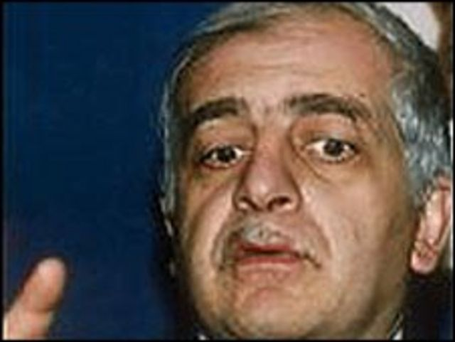 Бывший президент Грузии Звиад Гамсахурдиа