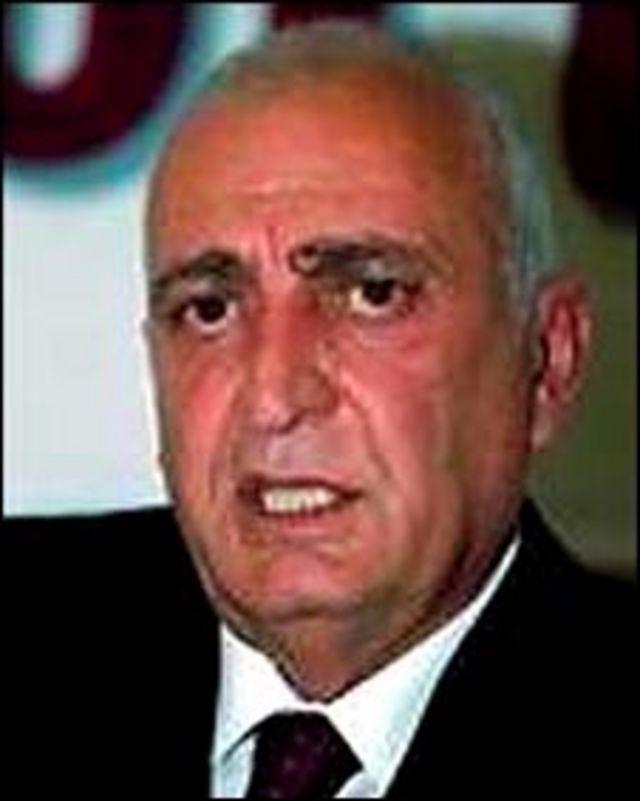 бывший коммунистический лидер Грузии Джумбер Патиашвили