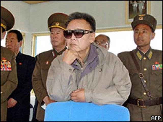 Kim Jong-il en una foto de archivo